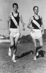 Ron Johnson (deceased) and Rick Tussing, part of West High's highly successful cross-country and track team. For those
