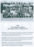 1963 Victor Elementary School (Grades 4&5) - Mrs. Kuyat's Class
