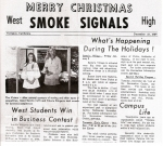 Carol Coscia & Valerie Stingerie win Business Awards - Smoke Signals, December, 1969