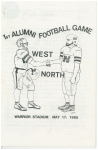 May 1985 - West vs North Alumni Football Game